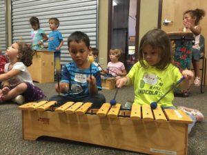 WoodFest music class