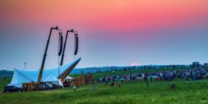 Signature Event at sunset