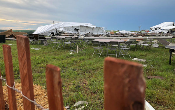Symphony in the Flint Hills cancelled due to damage sustained in storms