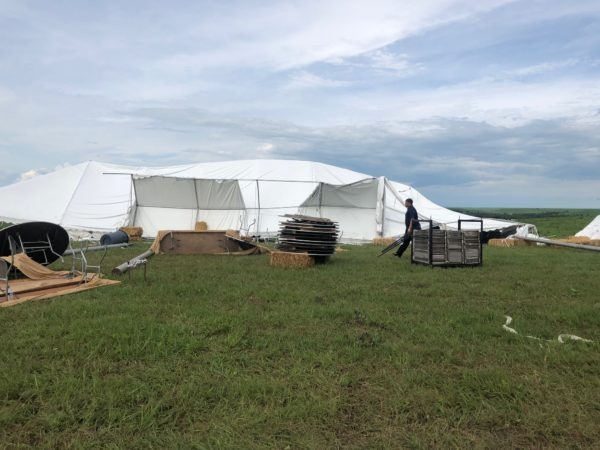 Symphony in the Flint Hills reports update on storm damage and event cancellation